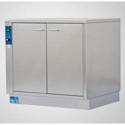 Fangowärmeschrank FWS 850 2-türig Standard Thermostatische Regelung bis 65°. HxBxT 820mm x 890mm x 710mm