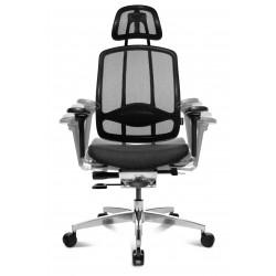 Bürodrehstuhl mit Armlehne und Kopfstütze
