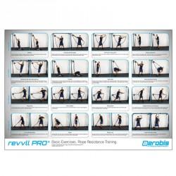 revvll PRO Exercise Poster (70 x 50 cm)