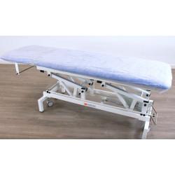 Einmal-Spannbezüge für Behandlungsliegen , Paket mit 100 Stck